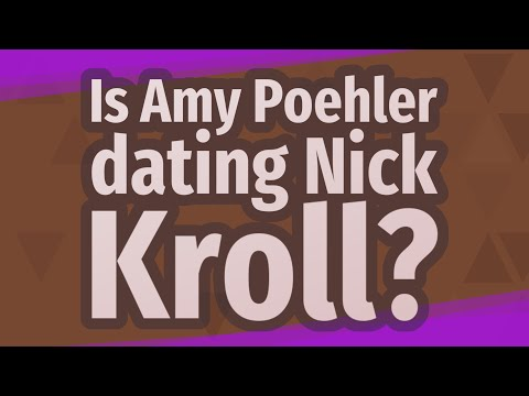 Is Amy Poehler Dating Nick Kroll?