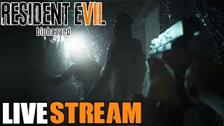 Resident Evil 7 Biohazard Gameplay Walkthrough LIVE STREAM! Most Terrifying Experience Ever! PART 2