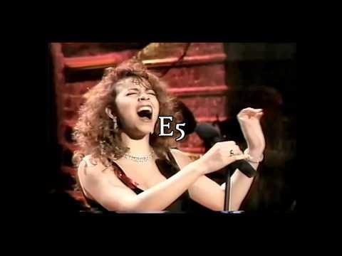 Mariah Carey vs MISIA - Live Belting: A4-G5
