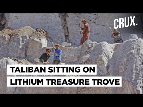 $1 Trillion Of Lithium & Other Minerals In Afghanistan: Will A New Great Game Begin Under Taliban?