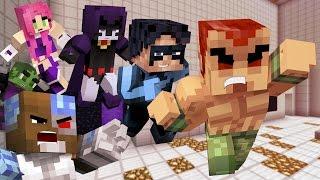 Minecraft: Teen Titans vs Amazo! (Minecraft Roleplay)