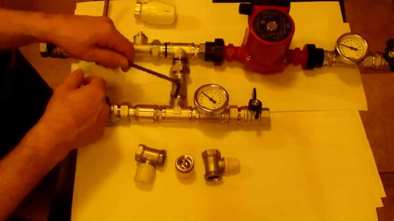 Балансировочный клапан (вентиль) обеспечивает в системах отопления расчетное распределение потоков теплоносителя, а также может выполнять.