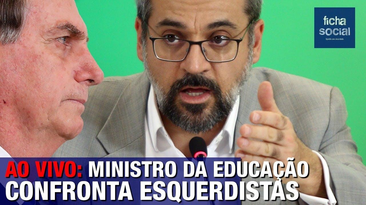 Resultado de imagem para AO VIVO: MINISTRO ABRAHAM WEINTRAUB CONFRONTA SENADORES ESQUERDISTAS - GOV. BOLSONARO - EDUCAÇÃO