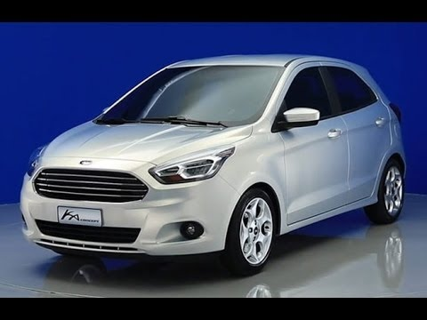 novo ford ka 2015 conceito youtube. Black Bedroom Furniture Sets. Home Design Ideas