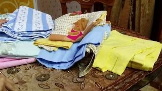 تعالو شوفو مشترياتى من أطقم السرير والونهم ورسوماتهم واسعرهم حاجات جميله جدا