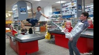 Чудики в магазине. ТОП!!! Приколы