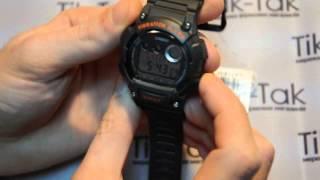 Відео огляд годин CASIO W-735H-8AVEF