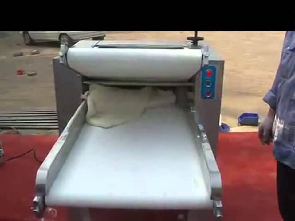 自動壓麵機 電動壓麵機 - YouTube