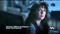 Sanctuary - Wächter der Kreaturen Season 1 & 2 German Trailer [SyFy]