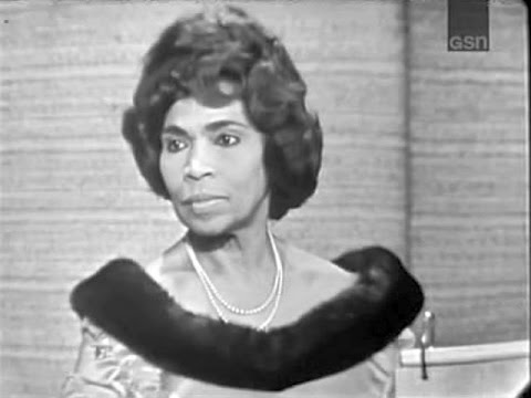 What's My Line? - Marian Anderson; PANEL: Abe Burrows; Anita Gillette (Apr 18, 1965)  [CORRECTED!]