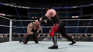 WWE 2K15- The Undertaker vs Kane Normal Match At SmackDown 2015 (PS4)