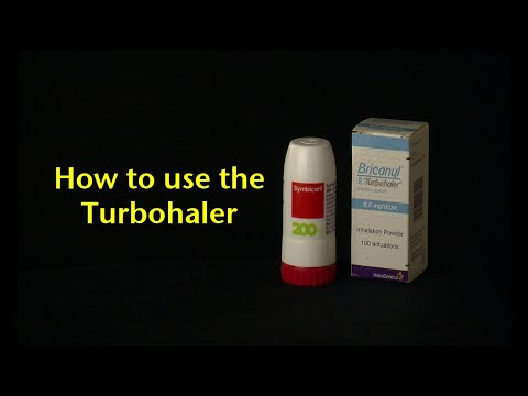 How To Use The Turbohaler
