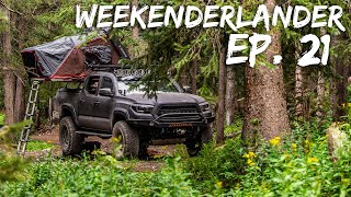 CAMPING Quick & Eąsy - WEEKENDERLANDER EP 21 - Tacoma Mini Overland Adventure