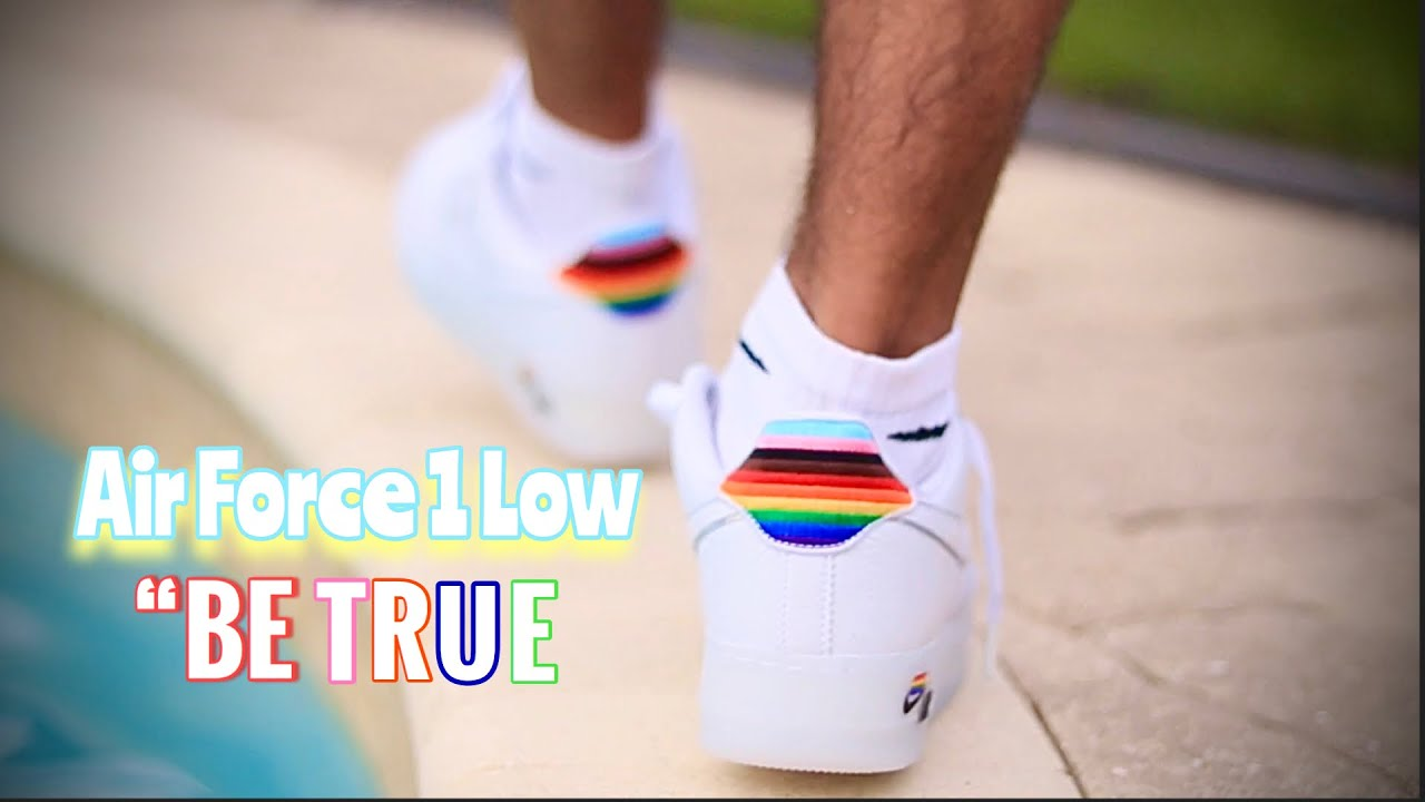 """[UNBOXING] NIKE AIR FORCE 1 LOW """"BE TRUE"""" ON FEET"""