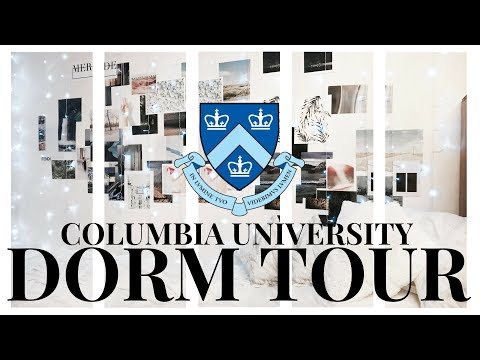 COLUMBIA UNIVERSITY DORM TOUR | NYC COLLEGE