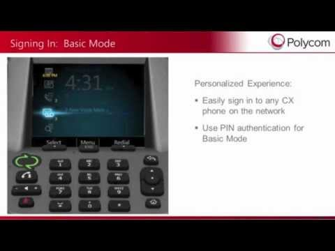 Polycom IP Voice Conference CX3000 Overview - VISITELECOM