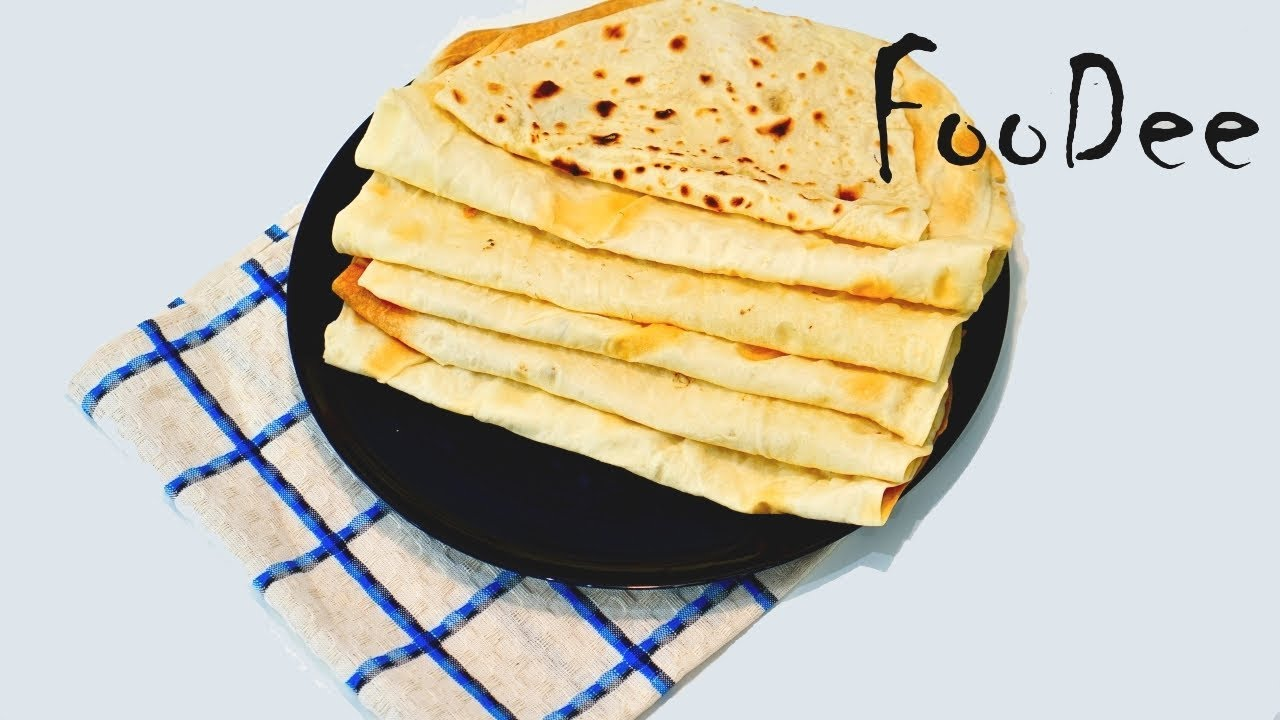 Лаваш ТОНЬШЕ тонкого в духовке. Как сделать лаваш для шаурмы дома ◊ Lavash flatbread recipe/English
