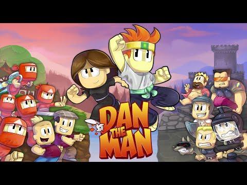 Dan the man #1: Tựa game đồ hoạ 1D của năm.Hành động siêu cuốn hút.