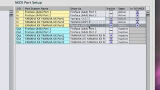 Cubase 5  MIDI Setup (урок 1-й)