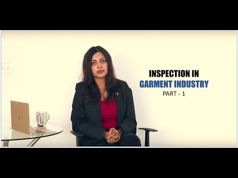 Inspection Process in Garment Industry (Part - 1)