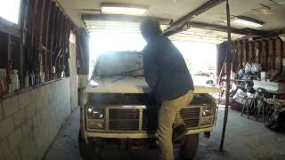 new wrecker build part 1 by bsf recovery team