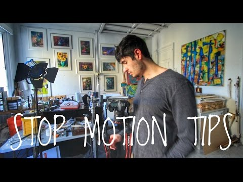 STOP MOTION TIPS & TRICKS