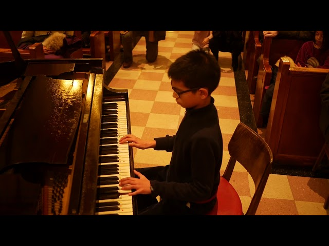 Rohan (11) performs Sonatina in C major Op. 36
