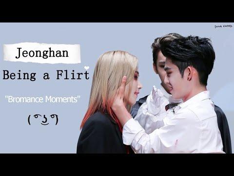 SEVENTEEN Jeonghan Being a Flirt [Bromance...
