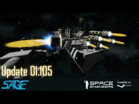 Space Engineers, NewThrusters, The Hydrogen Update (01.105)