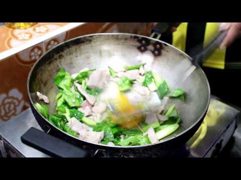 ทำคลิปวีดีโอ การทำอาหารภาษาอังกฤษ