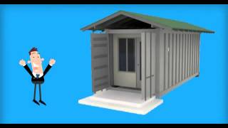 Tiny House | Shipping Containers | Storage Containers for Sale | 1-844-GO-PITBULL