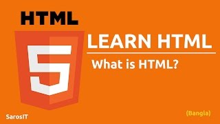 HTML Tutorial - What is html in Bangla