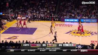 Steve Blake Warms Up, Gets Traded During Warmups - 2/19/2014