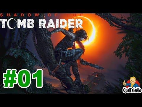 Shadow Of The Tomb Raider - Gameplay ITA - Walkthrough #01 - La Festa Dei Morti