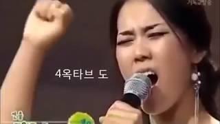 유명한 가수음역대 2옥라~4옥레샾 모든창법포함