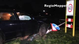 Gewonden bij ongeluk op N331 in Vollenhove