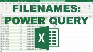 List of filenames fŗom folder and subfolders into Excel