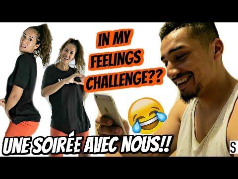 IN MY FEELINGS CHALLENGE ??! ON EST DES FOUS 😂