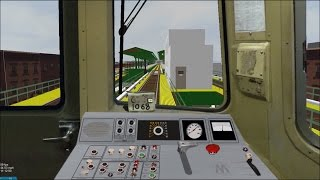 OpenBVE HD: Operating NYC Subway R46 Pre-GOH P-Wire F Express Train to Jamaica - 179th Street