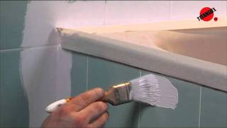 Como pintar os azulejos da casa de banho