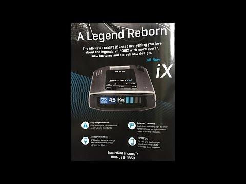 Escort iX, the successor to the 9500ix