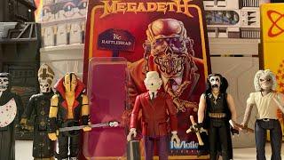 Megadeth Vic Rattlehead ReAction Figure !!!