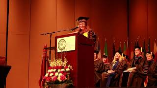 Meredith Chapman NWACC Graduation Speech
