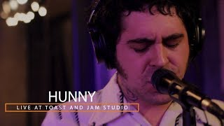 HUNNY Live at Toast and Jam Studio (Full Session)