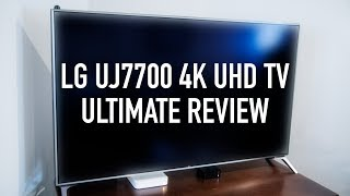 LG UJ7700 4K Ultra Hd TV with Dolby Vision Ultimate Review