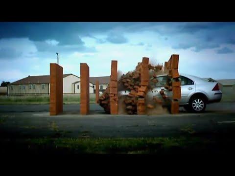 Brick Wall Crash Test   DIY Top Gear   Top Gear Uncovered