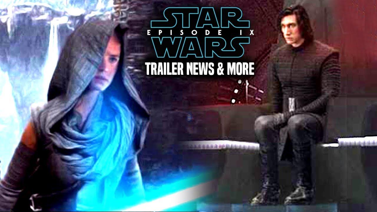 Star Wars Episode 9 Trailer Leaked Details Revealed & More! (Star Wars News)