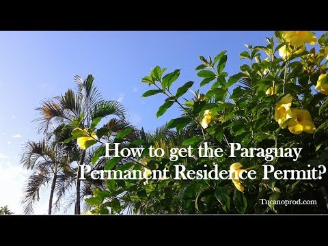 Paraguay Permanent Residence Permit
