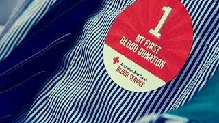 Donating Blood at the Red Cross - Behind the News
