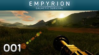EMPYRION [001] [Drohnen, wilde Pflanzen & fiese Gegner] [S01] Let's Play Gameplay Deutsch German thumbnail